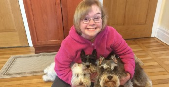 Young Girl Named Gracie Opens Dog Treat Business