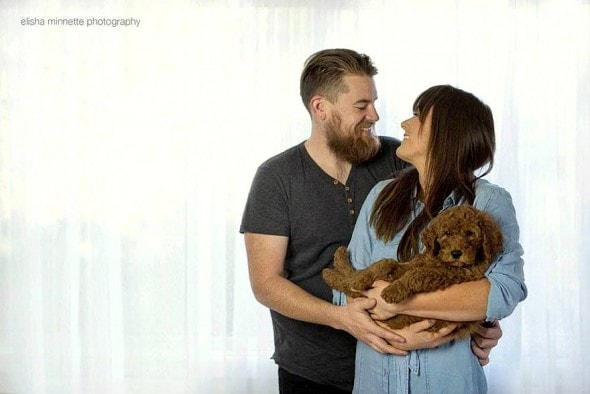 3.12.16 - Couple's Newborn Dog Shoot7