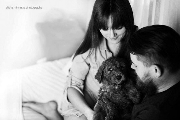 3.12.16 - Couple's Newborn Dog Shoot8