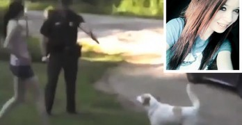 Woman That Stepped Between Dog and Cop About to Shoot Acquitted