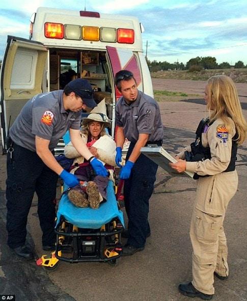 4.15.16 - Dog Saves Woman Lost in Arizona1