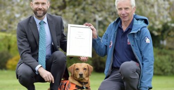 Heroic UK Dog Given Medal for Saving Woman's Life