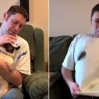 Man Trying to Clean His Pug's Face Gets a Very Rude Surprise