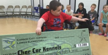 Michigan Students Raise $13K For Classmate's Service Dog