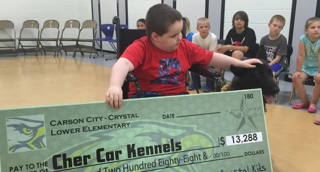 Michigan Students Raise $13K For Classmate's Service Dog