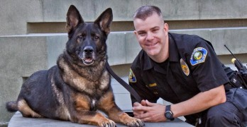 Hero Officer Bruno, Anaheim K-9 Unit, Passes Away