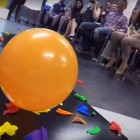 Little Dog Breaks World Record for Fastest Time to Pop 100 Balloons