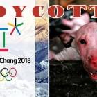 End the Horrifying Dog & Cat Slaughter in South Korea:  BOYCOTT THE 2018 OLYMPICS!