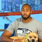 NFL Player Takes a Public Stand Against Dog Fighting