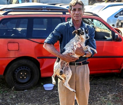 7.27.16 - Man Adopts Dog Who Spent Three Months Living in the Car His Owner Died In2