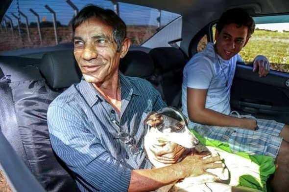 7.27.16 - Man Adopts Dog Who Spent Three Months Living in the Car His Owner Died In4