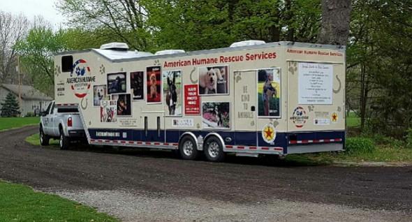 Oklahoma animal rescue vehicle