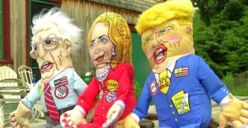 Politics With Bite! Presidential Candidate Dog Toys
