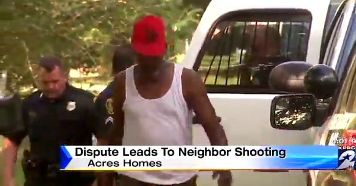 Man Shoots His Neighbor in the Neck for Beating His Dog