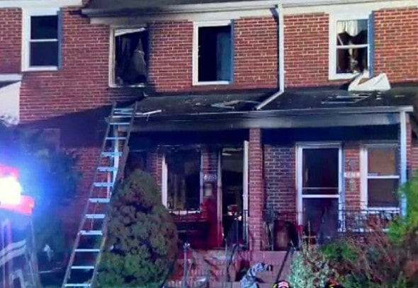 8.19.16 - Heroic Family Dog Sacrifices His Life to Save the Baby's in Deadly House Fire3