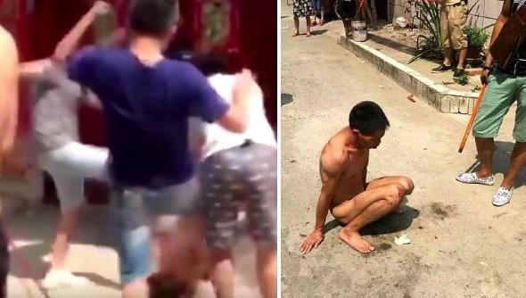 9.5.16 - Dog Rapist Beaten by Mob2