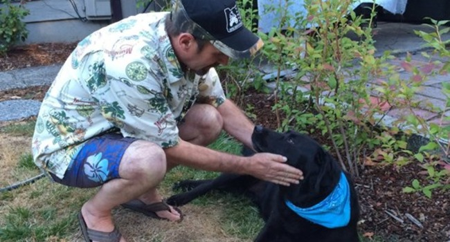 Reunited & Delighted: This Man's Car Was Stolen With His Dog Inside!