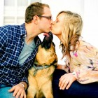 30 Dogs Who Totally Made Their Humans' Engagement Photos