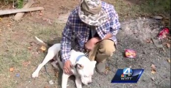 House Fire Victim Sleeps Outside to Keep His Dog