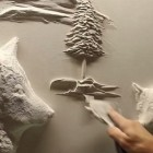 Drywall Artist Creates Stunning Wilderness Wallscape, Wolves Included
