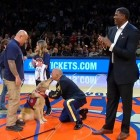 New York Knicks Surprise Army Veteran With a Service Dog