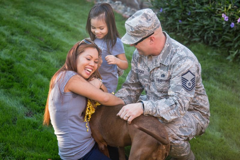 Project Active Duty Brings Military Family Back Together With Their Beloved Dog