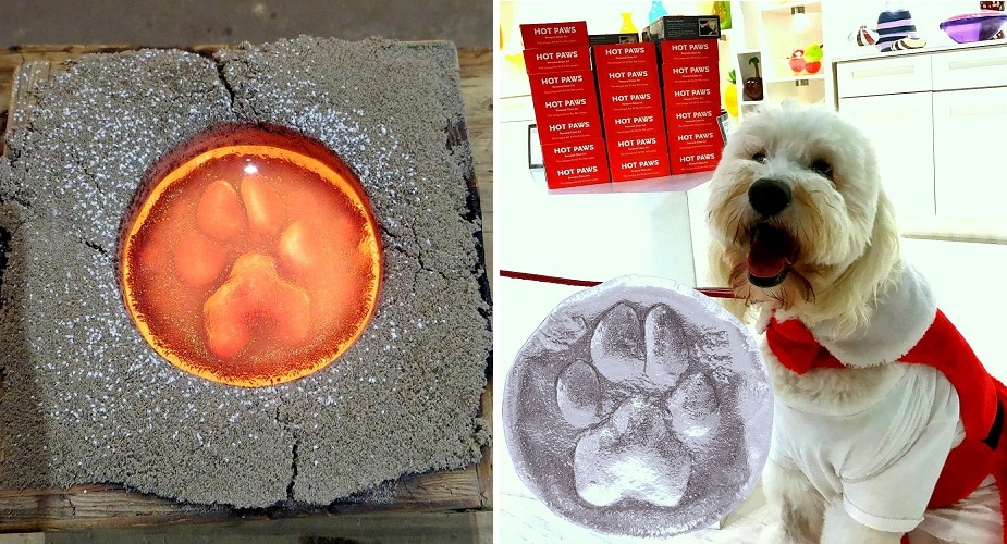 Hot Paws – This Unique Way to Commemorate Dogs and Cats Makes a Truly Special Gift for Pet Lovers