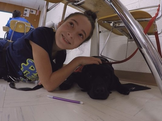 Special Dog Gives Girl With Autism A Voice