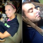 """Mean,"" Abused Dog Rescued by Paramedics Is Now One of the Crew"
