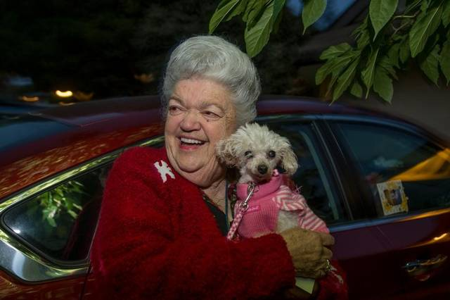 Gigi's Homecoming: Woman Reunites with Missing Poodle Nine Years Later