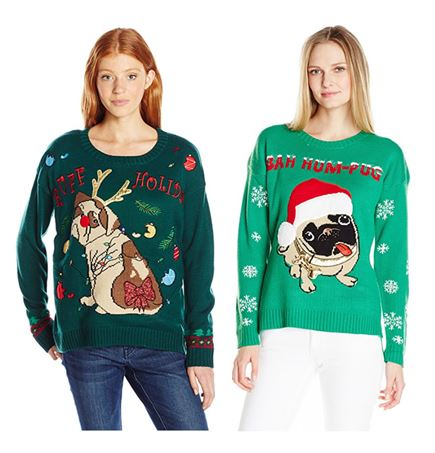 Christmas Sweaters For Dogs.20 Ugly Christmas Sweaters Featuring Dogs To Dazzle With At
