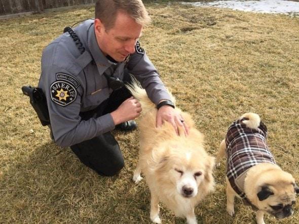 1.12.17 - officer adopts blind dog1