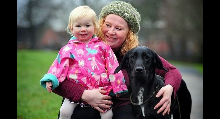 Heroic Foster Puppy Saves the Life of a Choking Baby