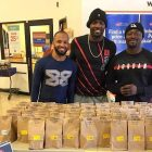 Dallas Cowboy Buys Entire Table of Food to Help Shelter Dogs