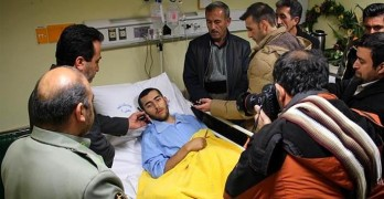 Heroic Iranian Soldier Loses His Leg to Save a Street Dog Trapped in a Minefield