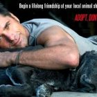 "Rescue Dog Dad John Stamos Says ""Adopt, Don't Shop"""