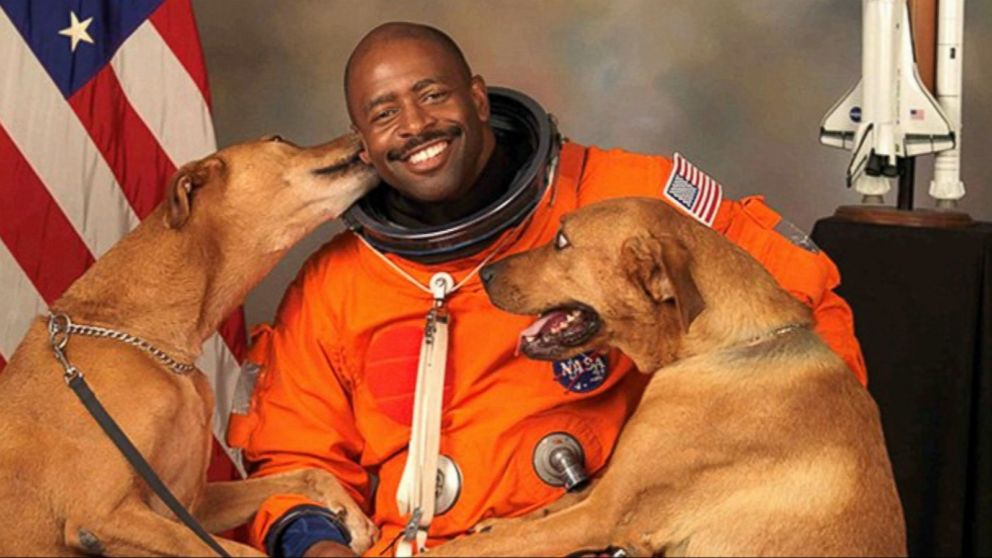 Remember This Astronaut's Photo? The Story Behind It Is Even Sweeter