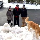 Heroic Dog Saves Three People from Being Crushed to Death in a Snow Fort Collapse