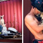 Firefighter Adopts the Rescue Puppy He Posed With for a Calendar Shoot