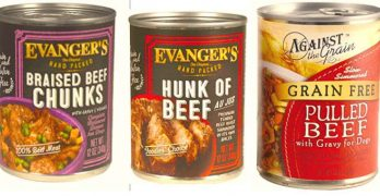 UPDATE: Evanger's Dog Food Recall Is Expanded