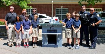 Kids Build a Doghouse for Georgia City's Newest Police Dog