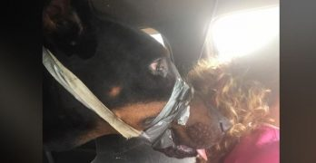His Mouth Was Taped Shut, Social Media Set A Rescue In Motion….