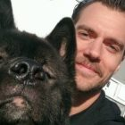 "Actor Henry Cavill: Have ""Superdog,"" Will Travel"