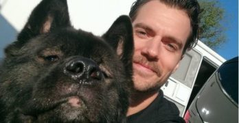 "Actor Henry Cavill: Have ""Superdog,"" Will Travel"