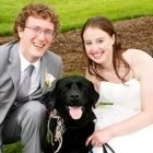 Couple Makes Their Former Foster Dog the Ring Bearer at Their Wedding
