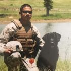 Reunion! Marine Vet Visits The Morale-Boosting Dog Who Kept Him Safe in Afghanistan