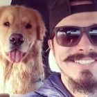 Shared Happiness: Dog Smiles When His Person Smiles