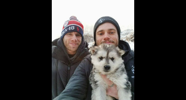 """Heartbroken"" Olympian Gus Kenworthy Visits Korean Dog Meat Farm, Adopts Pup"