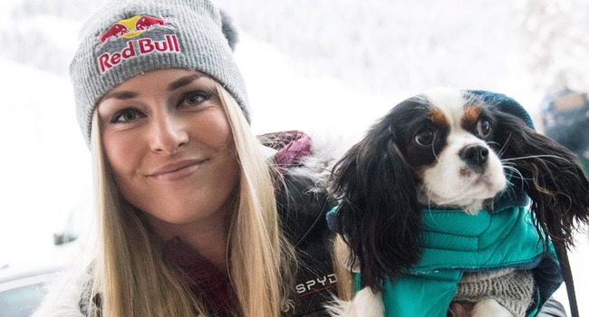 Lindsey Vonn S Dog Makes For Olympic Sized Laughs On