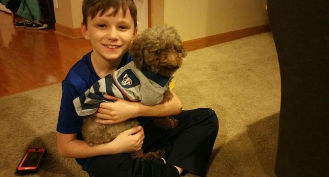 Little Boy Goes To Shelter And Adopts The Oldest Dog There
